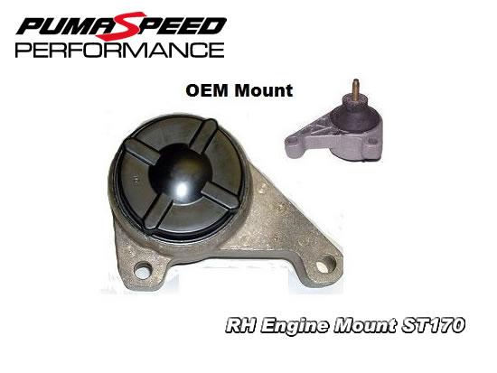 vibra technics performance uprated rh engine mount st focus st bushes engine