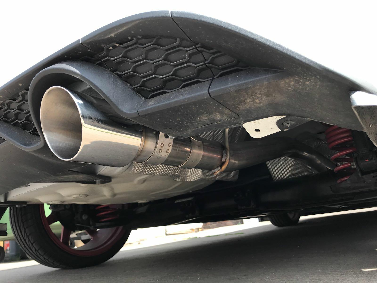 mk8 1.0 Fiesta ST line ST Milltek Exhaust