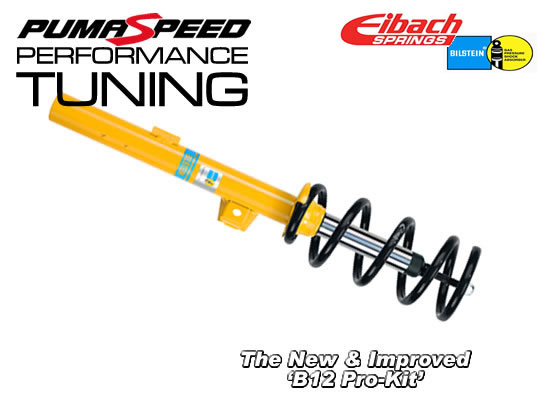 NEW EiBach and Bilstein B12 Pro-Kit Suspension for tFiesta Mk6 and ST150