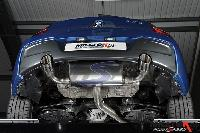 Cat-back with Twin 90mm GT90 tailpipe (SSXBM966) Image