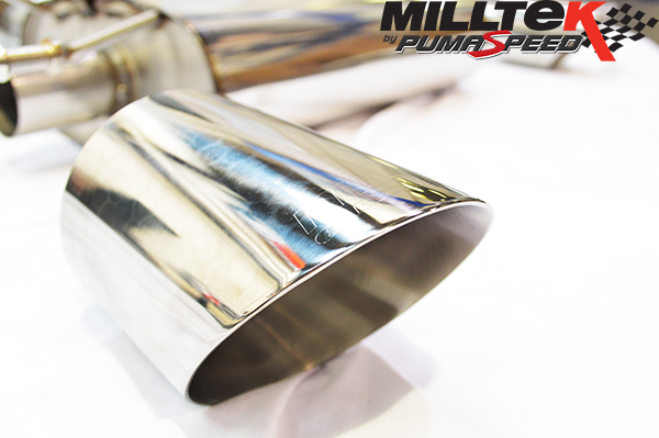 Milltek Exhaust Subaru BRZ 2.0-litre Secondary Cat-back with Dual GT115 tailpipe (SSXSB034)