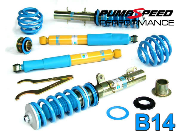 Bilstein b14 coilover suspension kit Focus ST225