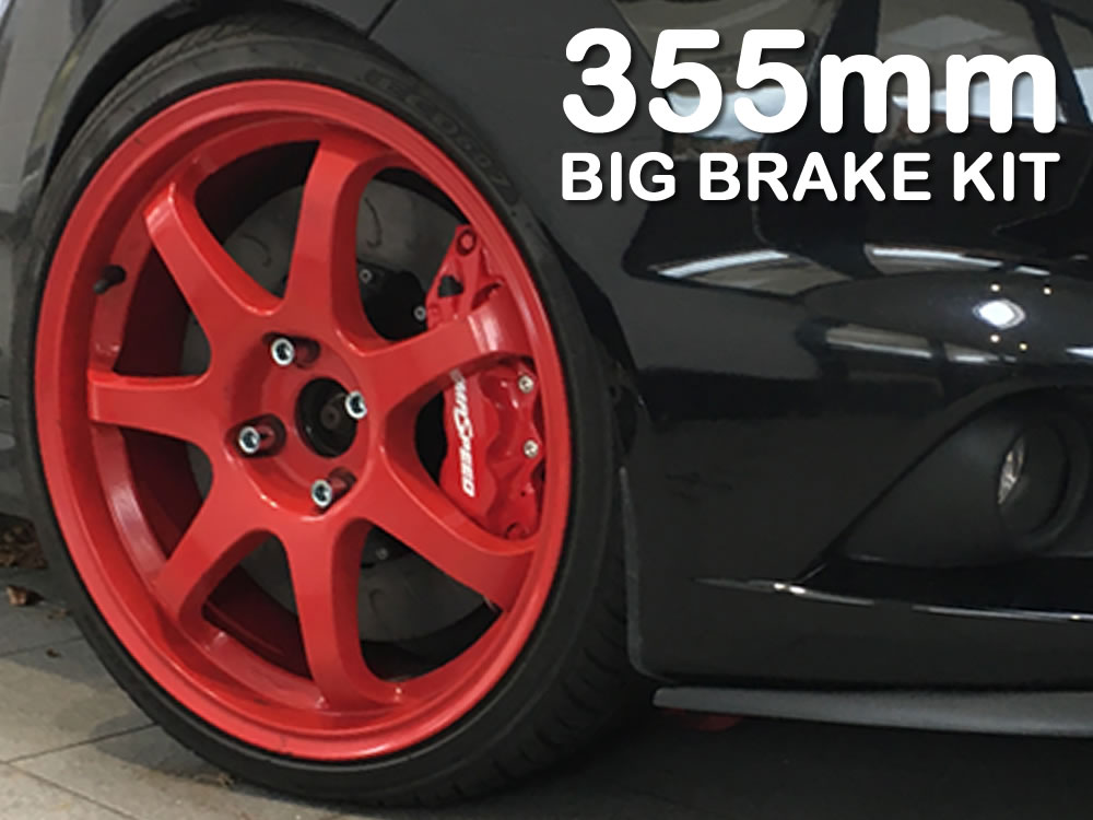 Fiesta ST 180 355mm Big Brake Kit - by Pumaspeed