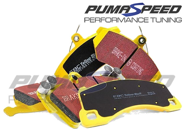 Focus RS Mk2 EBC Yellowstuff Rear Brake Pads