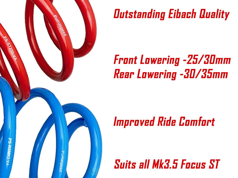 Focus ST250 Facelift Redline Springs by Eibach