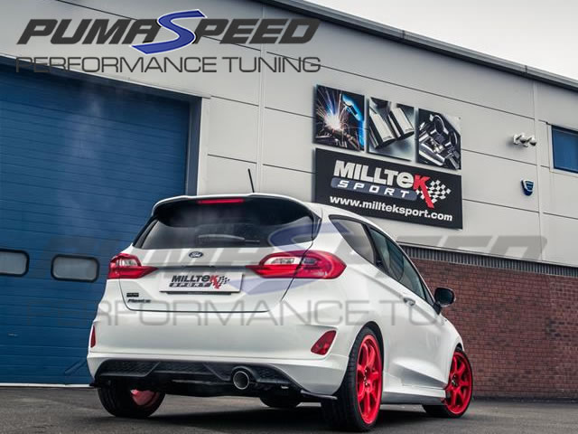 Milltek Sport Fiesta Mk8 1.0 Cat-back