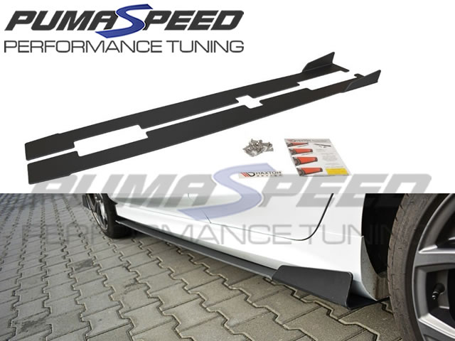 Fiesta Mk8 Maxton Racing Side Skirts V1