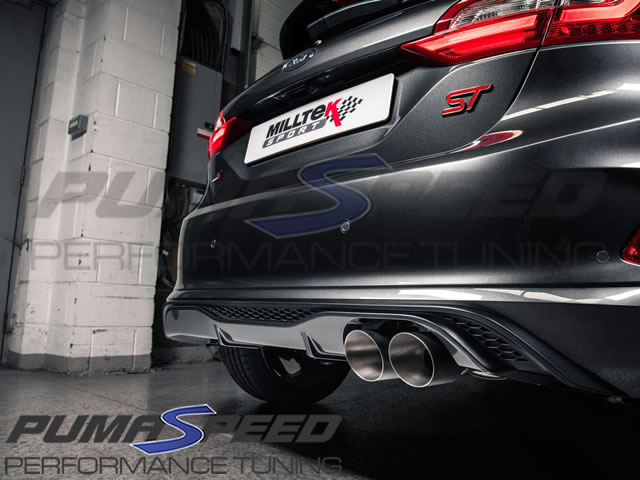 Milltek Sport Fiesta ST Mk8 GPF Back Valved Exhaust
