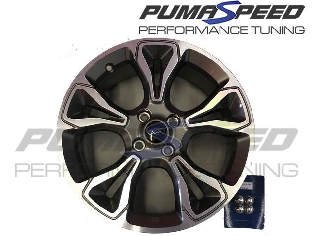 genuine ford fiesta mk8 st line 18 inch wheels focus st170 alloy wheels pumaspeed milltek. Black Bedroom Furniture Sets. Home Design Ideas
