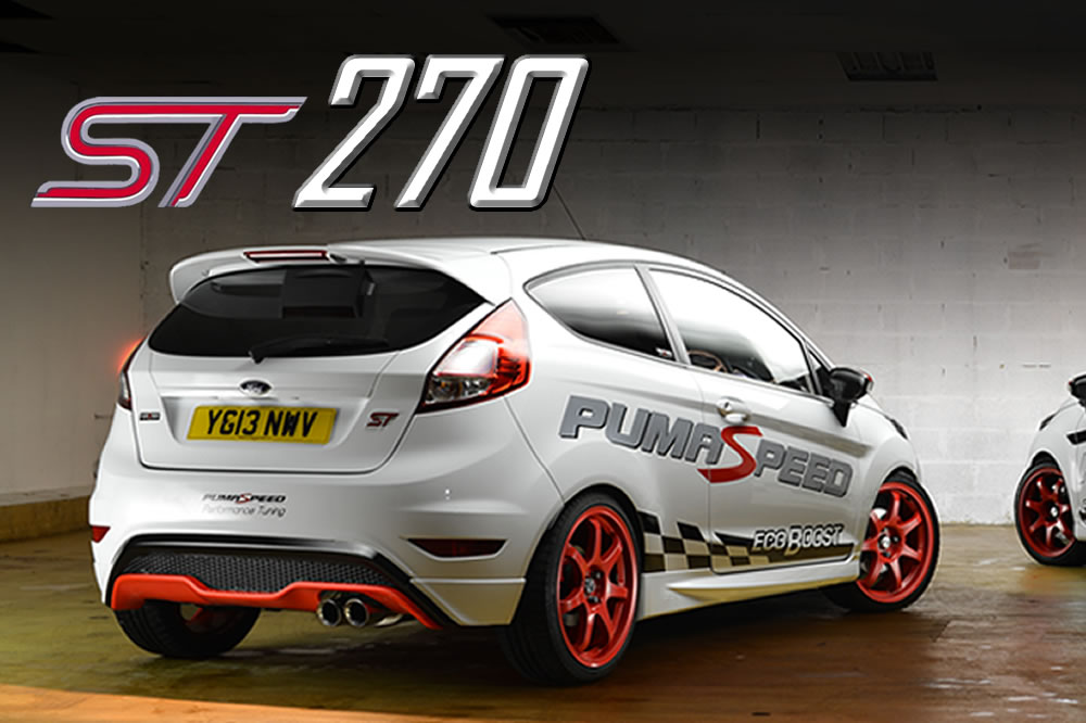 Fiesta ST180 with mild tune and 270 bhp