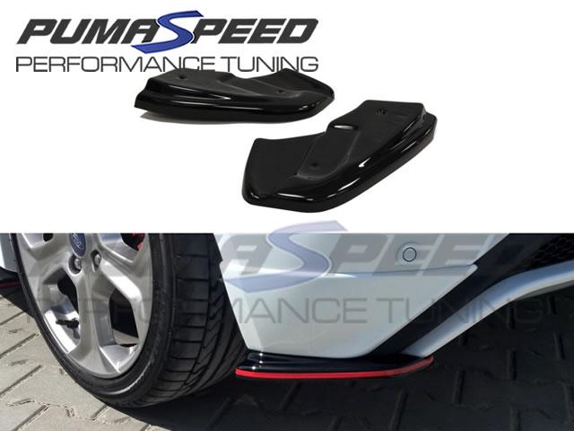 Ford Fiesta Rear Side Splitters By Maxton Design