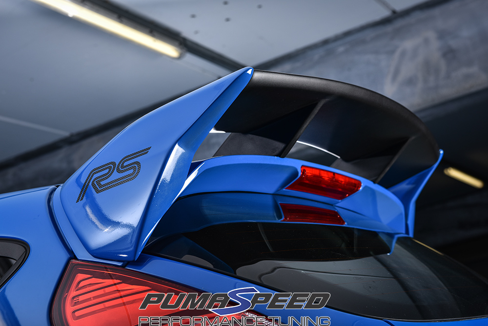 Ford Fiesta Mk7 Rear Rs Style Spoiler