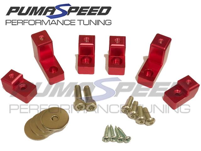 Pumaspeed Fiesta Mk7 Spoiler Riser Kit