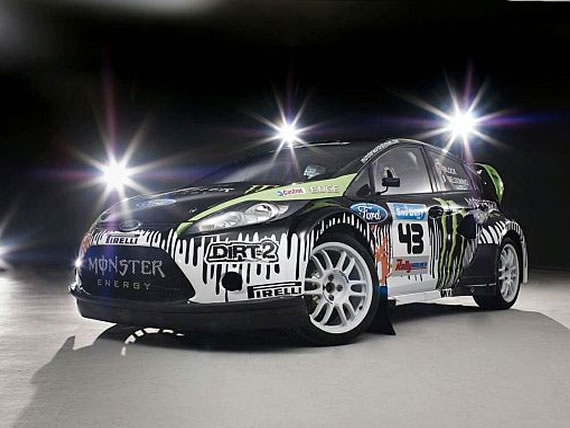 Fiesta mk7 wide acrh bodykit by olsbergs as used by ken block gymkhana and supplied by Pumaspeed Performance Tuning