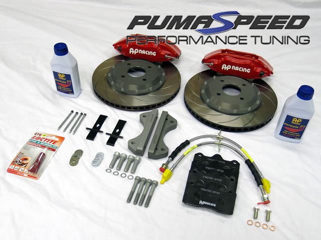 Fiesta st 180 ecoBoost AP 314mm brake kit