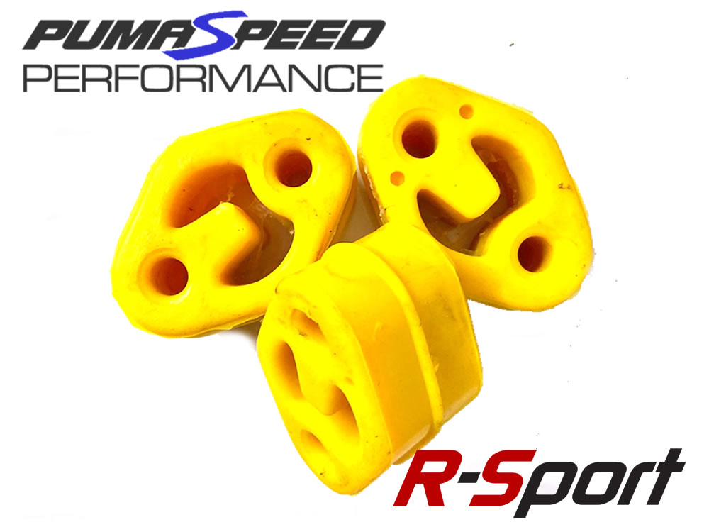 Focus RS Exhaust Rubber Mounts R-Sport