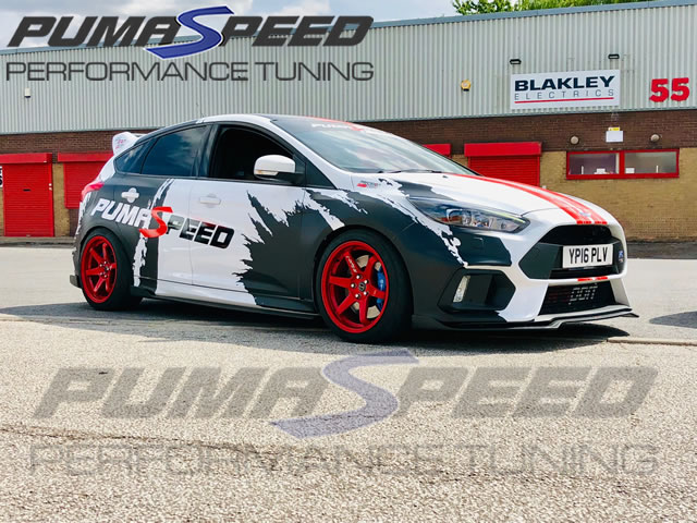 Focus RS MK3 Full Aero Splitter Kit