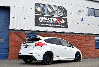 Ford Focus RS MK3 Milltek Cat Back Exhaust (Resonated)