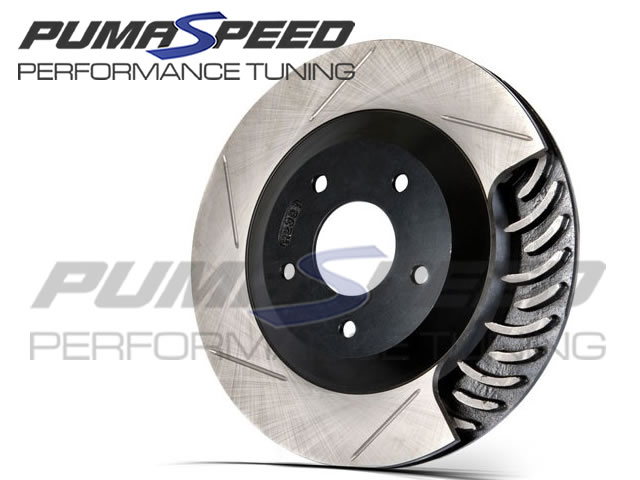 Focus RS Mk3 Stoptech Slotted Front Discs