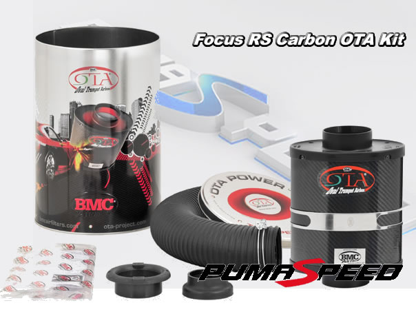 Focus RS mk2 2010 bmc ota carbon air filter induction kit