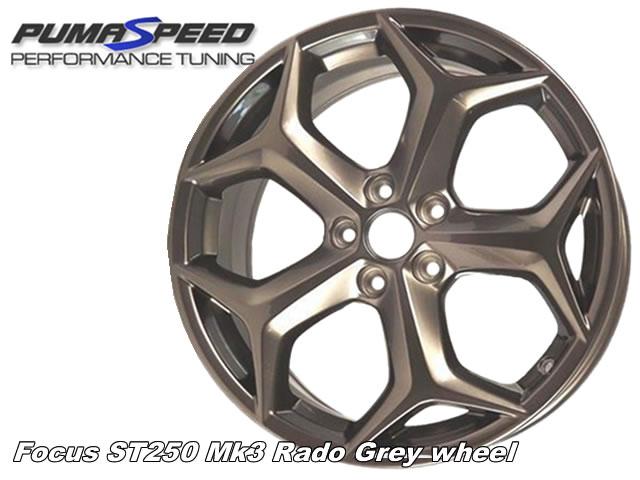 Focus ST250 Mk3 Standard Rado Grey Wheel