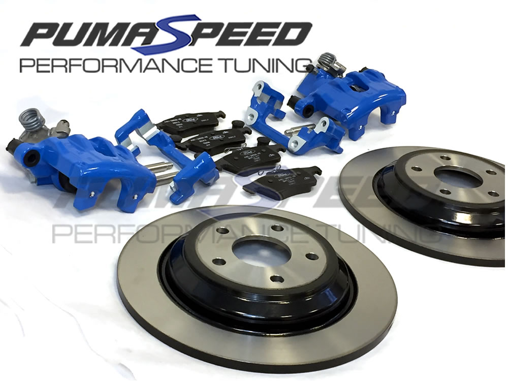 Focus RS Mk3 rear disc conversion kit