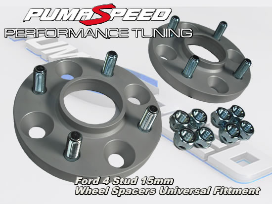 Ford 15mm bolt on wheel spacers Fit all Models