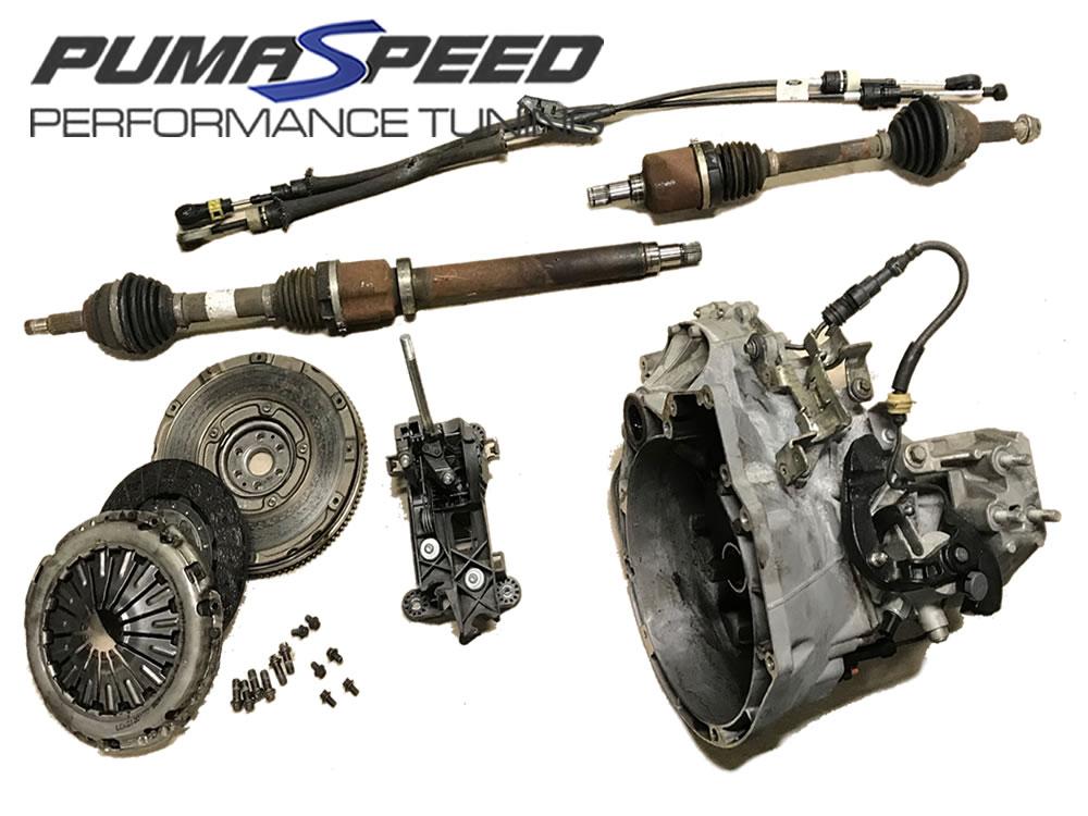 Ford Puma 1.7 gear linkage and gear knob ideal Fiesta mk4 mk5 upgrade