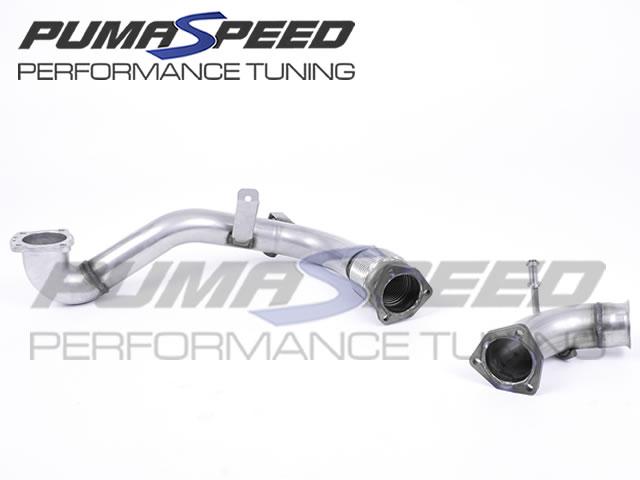 Milltek Sport Fiesta Mk8 1.0 EcoBoost Large Bore Downpipe and Decat