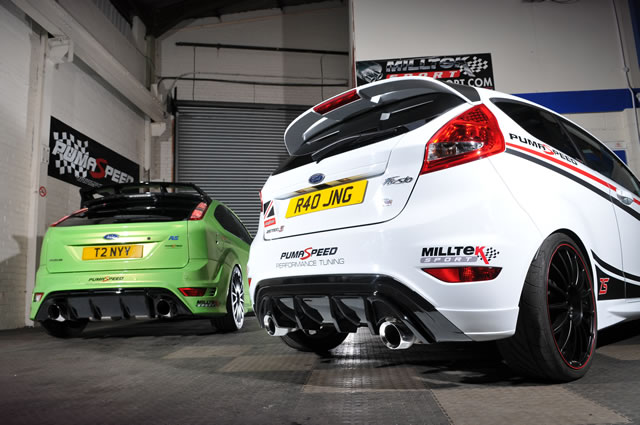fiesta zetec-s ti vct power upgrade zs140 with focus rs dual + valance - ford  fiesta mk 7 zetec-s/ti-vct