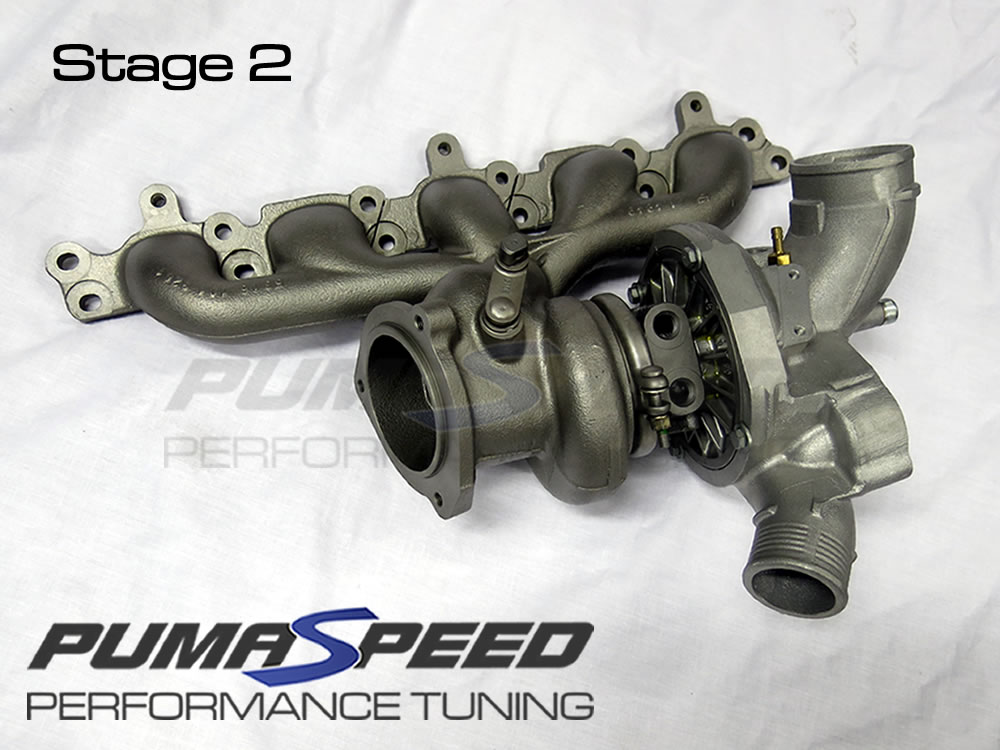 Ford Focus RS Mk2 Stage 2 Hybrid Turbocharger