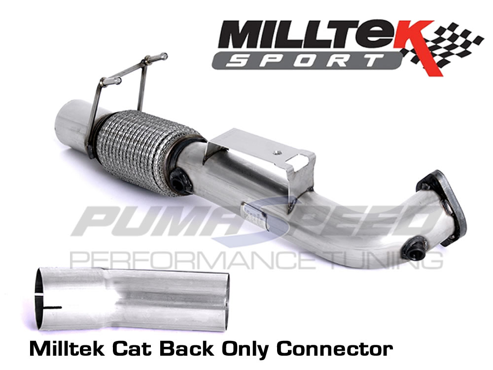 Ford Focus RS Mk3 Decat Milltek Only Connector SSXFD195