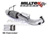 Ford Focus RS MK3 Milltek Sport Decat Down Pipe