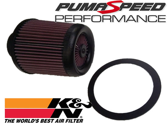 Ford Focus X Stream Extreme air filter kit with adaptor ring