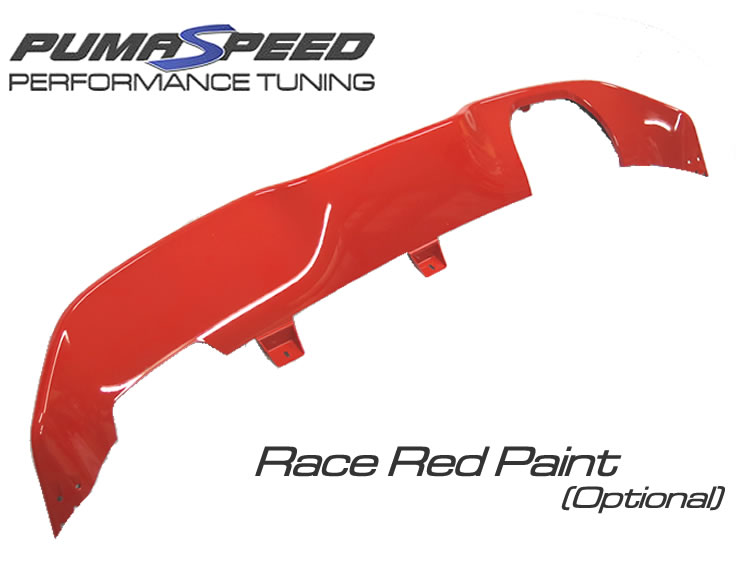 Ford Fiesta ST 180 EcoBoost rear valance insert Lower