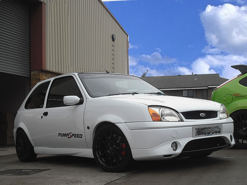 Ford Fiesta Mk5 Zetec S with 1700 Racing Puma Engine Conversion by Pumaspeed