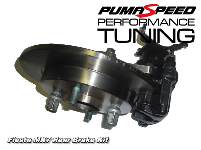 Ford Fiesta Mk7 Rear Disc brake Conversion Kit Fits all European & USA 2011 spec vehicles