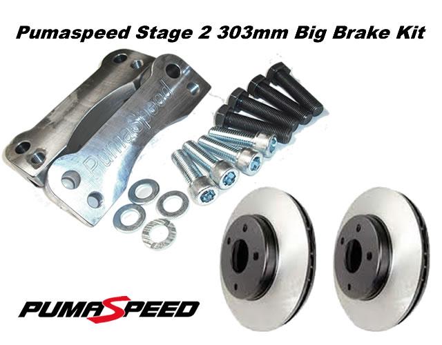 fiesta mk7 stage 2 front big brake upgrade kit 300mm fiesta mk 7 zetec s1600 brake. Black Bedroom Furniture Sets. Home Design Ideas