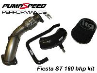 Ford Fiesta ST150 160 bhp Power Upgrade Kit by Pumaspeed Performance