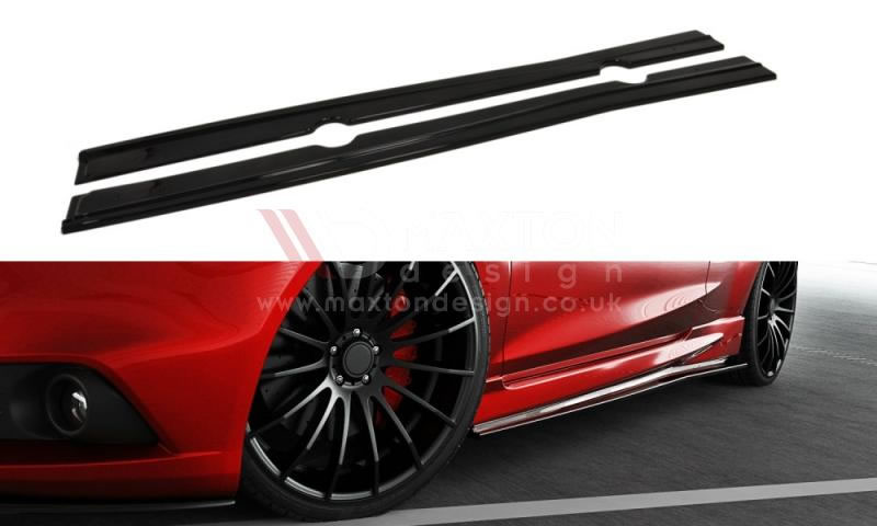 Ford Fiesta ST 180 Maxton side skirts