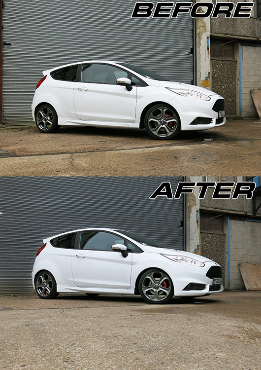 REDLINE Fiesta Special Edition Level Springs by Eibach
