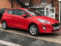 Ford Fiesta 1.1Ti-VCT Zetec (s/s) 3 Door 2018 Red