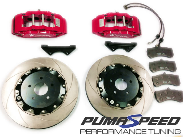 K-Sport 8 Pot 356mm Big Brake Upgrade Kit Ford Focus RS Mk2