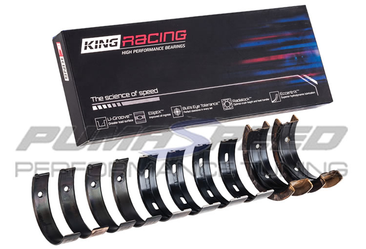 2 0 and 2 3 Ecoboost King Racing Main Bearings - Fiesta ST