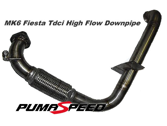 MK6 Fiesta Tdci High Flow Downpipe
