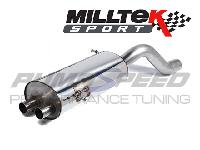 Milltek Fiesta ST 180 Race Back Box