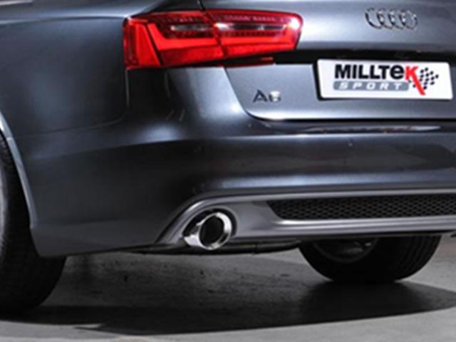Milltek Sport Exhaust Audi A4 2 0 TDi B8 177PS quattro Saloon and