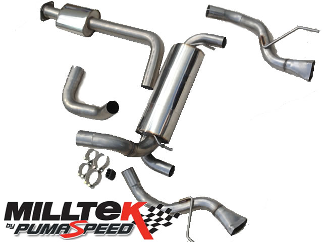 subaru forester exhaust system