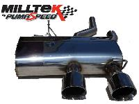 Cat-back with Dual 100mm GT100 tailpipe (SSXVW133) Image