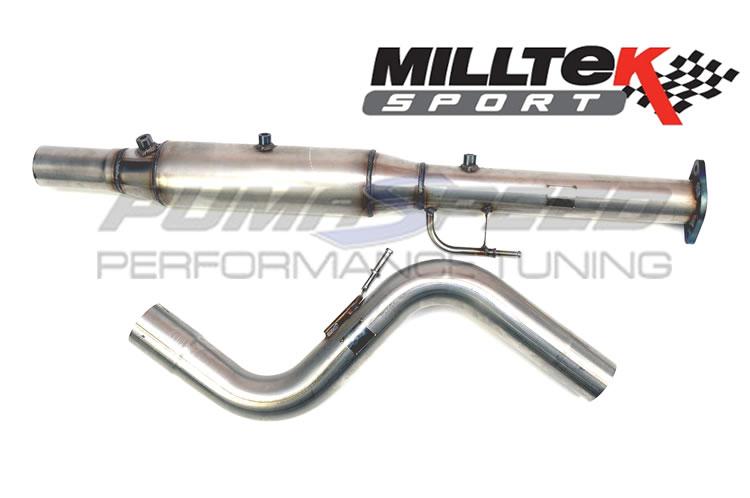 Milltek Sport TDCi Focus STD DPF Delete Pipe